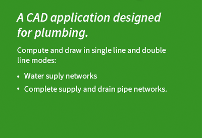 AUTOSAN from AUTOFLUID software suite dedicated to plumbing