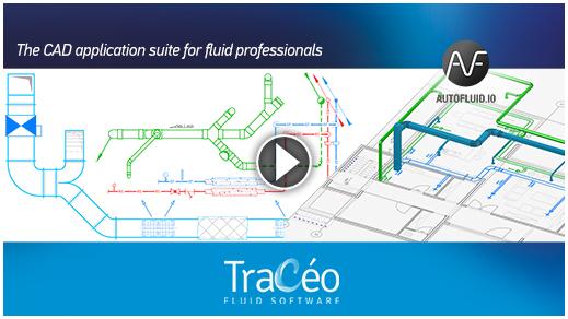 AUTOFLUID HVAC Plumbing CAD software demonstration video