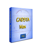 Cadsta Max for AUTOFLUID  and Autocad LT ; software package for technical 2d hvac drawing