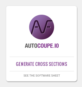 AUTOCOUPE: CAD application for cross section design