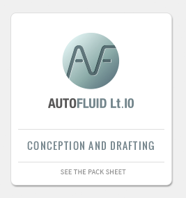 AUTOFLUID LT PACKAGE: CAD application for the conception of HVAC plans