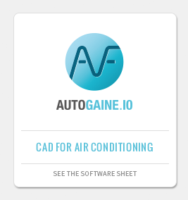 AUTOGAINE: CAD application for air-conditioning and ventilation