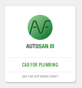 AUTOSAN: CAD application for plumbing, sewing networks design