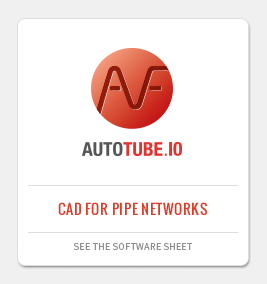 AUTOTUBE: CAD application for pipeworks design