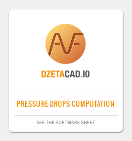 DZETACAD: CAD application for pressure drops calculation
