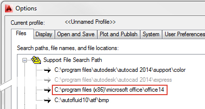 AUTOFLUID - Excel does not start